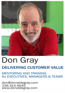 Donald E Gray - Delivering Customer Value