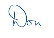 Don Gray Signature
